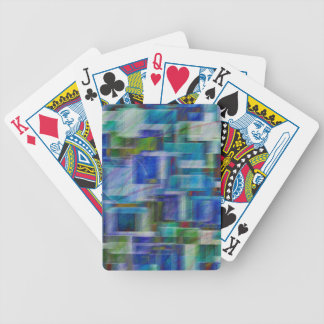 Abstract 5829 bicycle playing cards