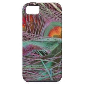 Abstract 70s Peafowl iPhone 5 Case