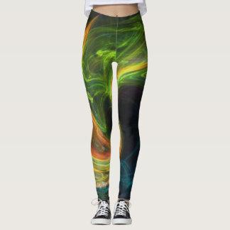 abstract  71 leggings