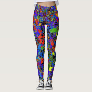 Abstract #738 leggings