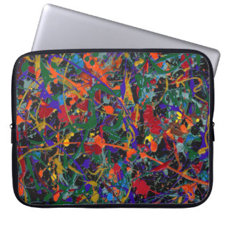 Abstract #817 laptop sleeve