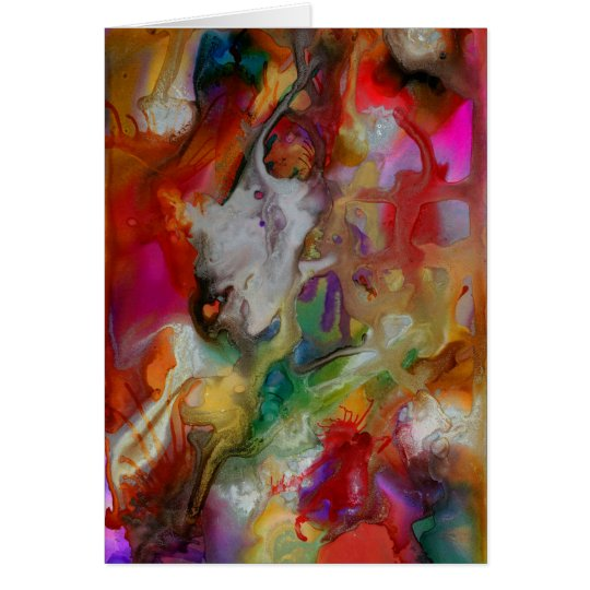 Abstract 8514 Greeting Card