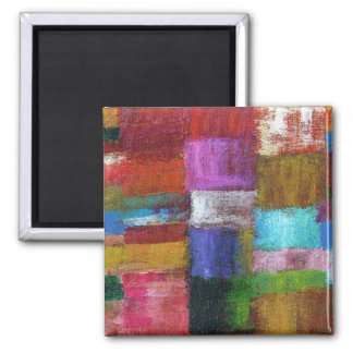 Abstract #8 square magnet