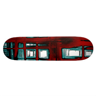 "Abstract 8½"" Skateboard"