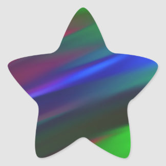 Abstract 900 star sticker