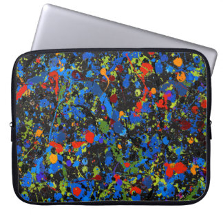 Abstract #913 laptop sleeve