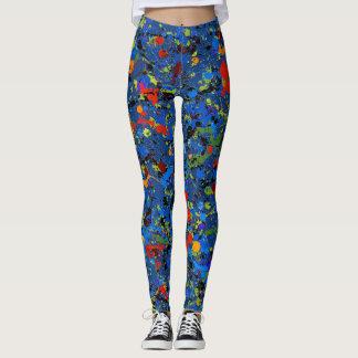 Abstract #913 leggings