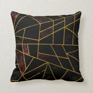 Abstract #939 throw pillow