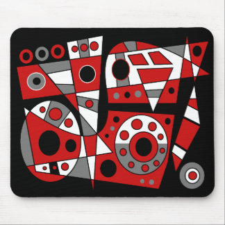 Abstract #946 mouse pad