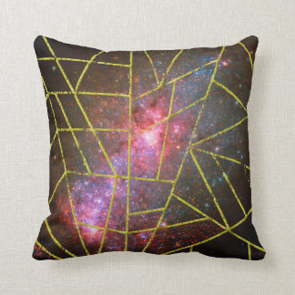 Abstract #949 throw pillow