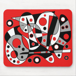 Abstract #962 mouse pad