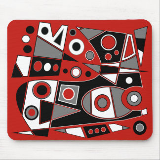 Abstract #968 mouse pad
