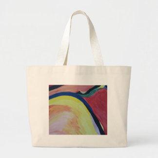 Abstract Acrylic Design 1 Large Tote Bag