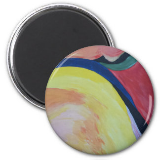 Abstract Acrylic Design 1 Magnet