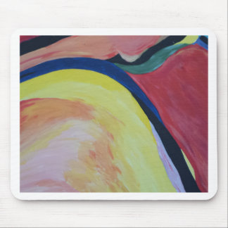 Abstract Acrylic Design 1 Mouse Pad