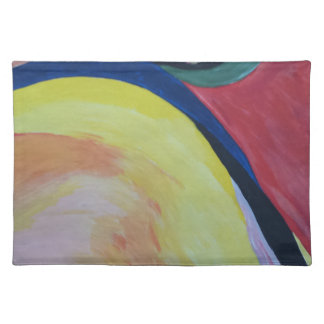 Abstract Acrylic Design 1 Placemat