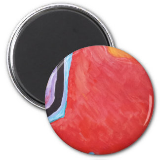 Abstract  Acrylic Design 2 Magnet