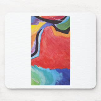 Abstract  Acrylic Design 2 Mouse Pad