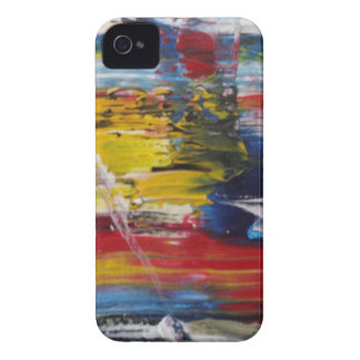 Abstract Acrylic Pattern 1 iPhone 4 Case-Mate Case