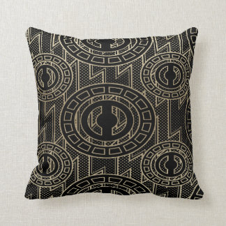 Abstract African Design Throw Pillow