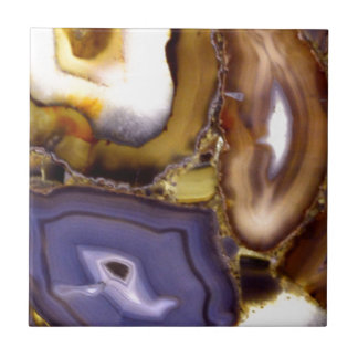 Abstract Agates Tiles