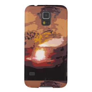 Abstract Alligator Reptile Art Galaxy S5 Case
