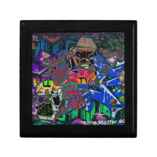 Abstract Altered Graffiti Gift Box