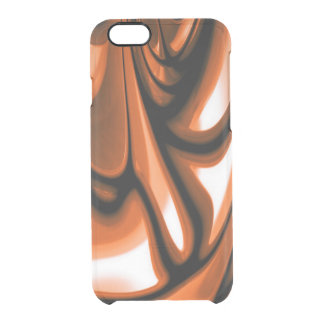 Abstract Amber Ocean Clear iPhone 6/6S Case