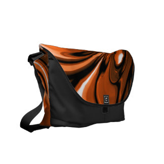 Abstract Amber Ocean Commuter Bag