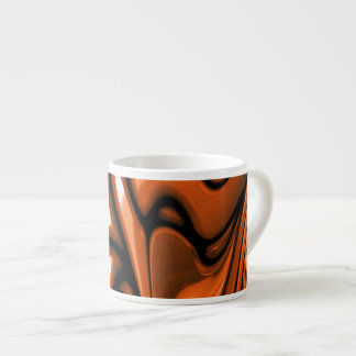 Abstract Amber Ocean Espresso Cup