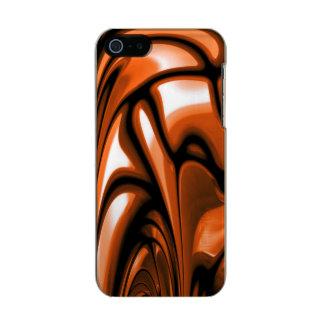 Abstract Amber Ocean Incipio Feather® Shine iPhone 5 Case