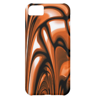 Abstract Amber Ocean iPhone 5C Cover