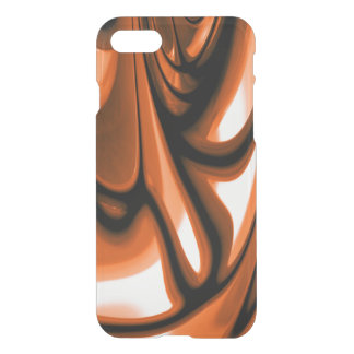 Abstract Amber Ocean iPhone 7 Case
