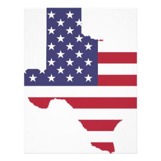 Abstract America Art Texas Letterhead