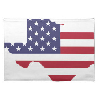 Abstract America Art Texas Placemat
