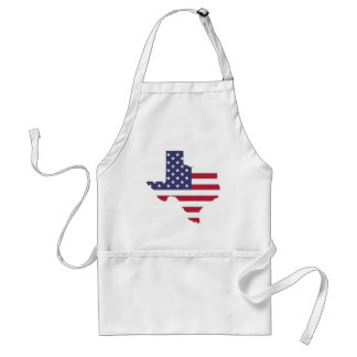 Abstract America Art Texas Standard Apron