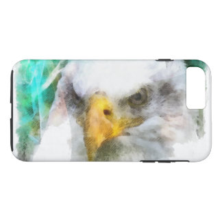 Abstract American Bald Eagle iPhone 7 Plus Case