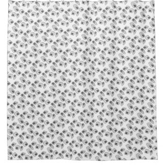 Abstract Amoeba Shower Curtain