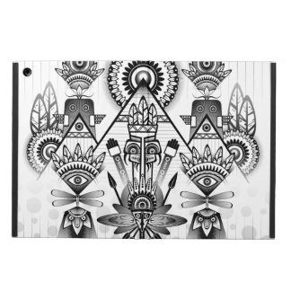 Abstract Ancient Native Indian Tribal Cover For iPad Air