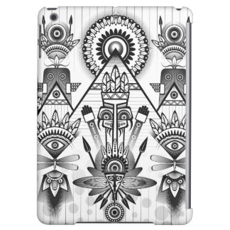 Abstract Ancient Native Indian Tribal iPad Air Cover
