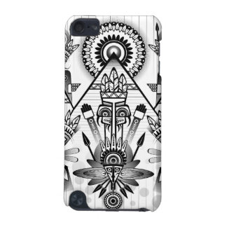 Abstract Ancient Native Indian Tribal iPod Touch 5G Cases