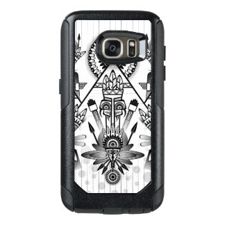 Abstract Ancient Native Indian Tribal OtterBox Samsung Galaxy S7 Case