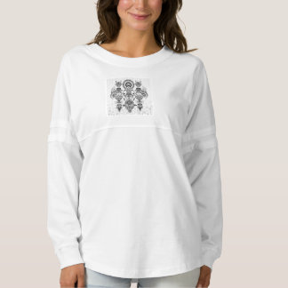 Abstract Ancient Native Indian Tribal Spirit Jersey