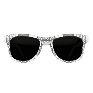 Abstract Ancient Native Indian Tribal Sunglasses