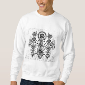 Abstract Ancient Native Indian Tribal Sweatshirt