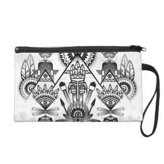 Abstract Ancient Native Indian Tribal Wristlet