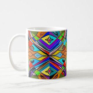 Abstract and Jazzy Mug