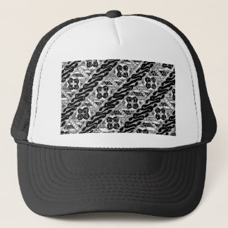 Abstract and Ornate Classical Pattern Trucker Hat