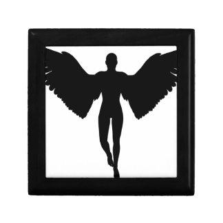 Abstract Angel Gift Box