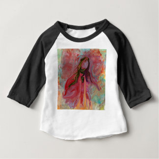 Abstract Angel in Pastels Baby T-Shirt